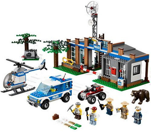 Lego Forest Police Station #5