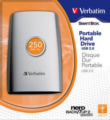 Verbatim Portable Hard Drive USB 2.0 - 7