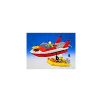 Lego Fire-fighting boat